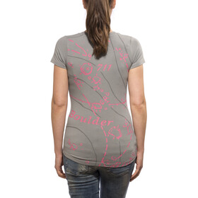 Black Diamond Map Tee Damen moon mist